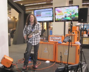 Orange Amps Rockerverb 100 with DIVO Musikmesse 2011 / Doug Doppler